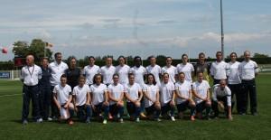 équipe France football féminin militaire 2
