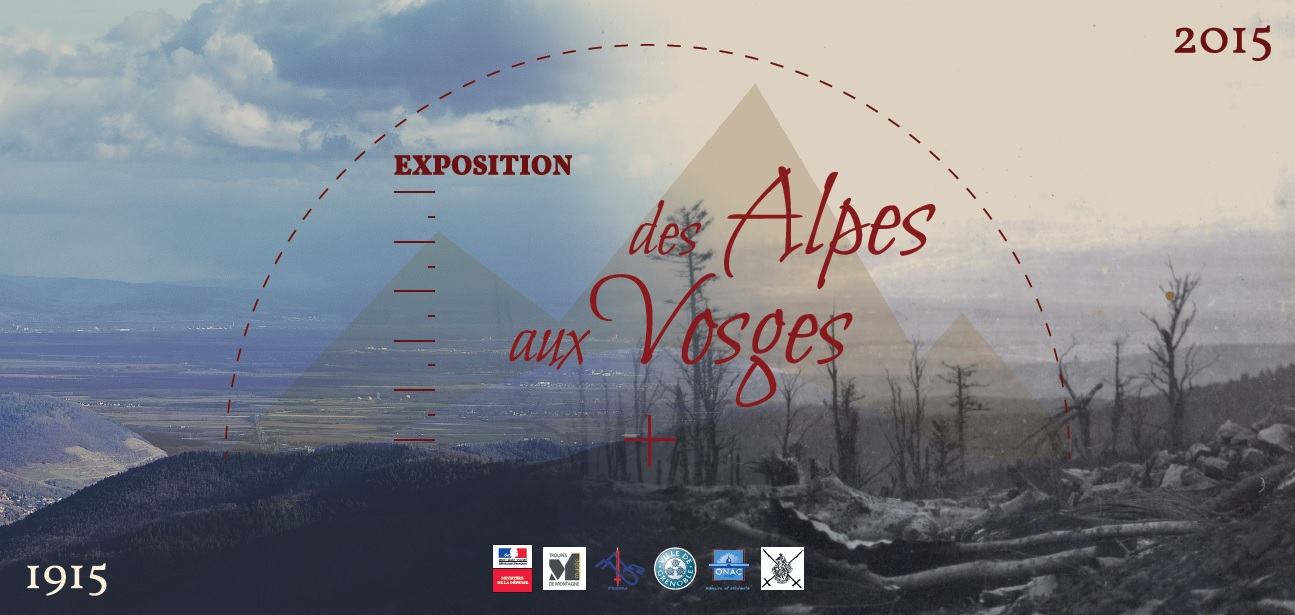 exposition 1915 2015 des alpes aux vosges. Black Bedroom Furniture Sets. Home Design Ideas