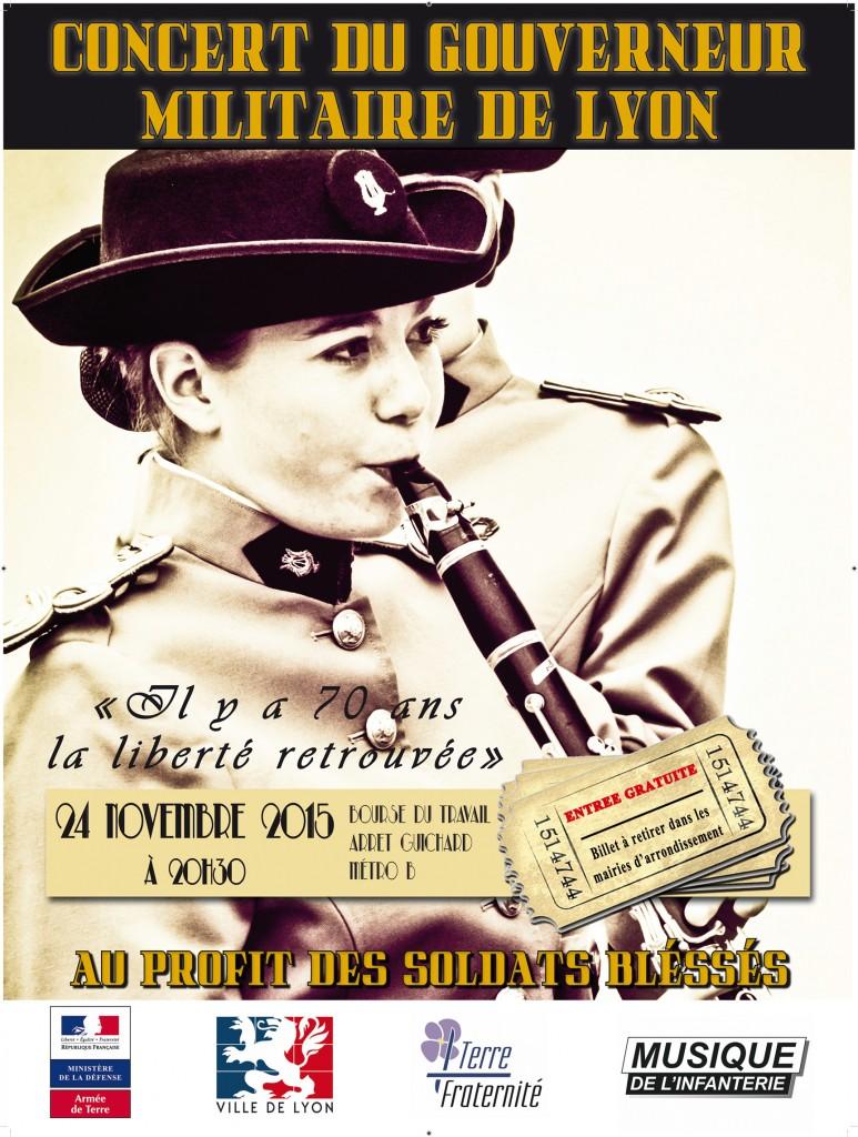 Affiche concert GML